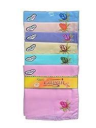 Milano Ladies Fancy cotton hankies- 12 Pcs Pack