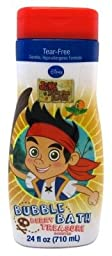 Disney Jake & The Neverland Pirates Bubble Bath 24oz Berry Treasure (3 Pack)