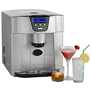 Vonshef Digital Ice Maker And Dispenser Machine With Lcd
