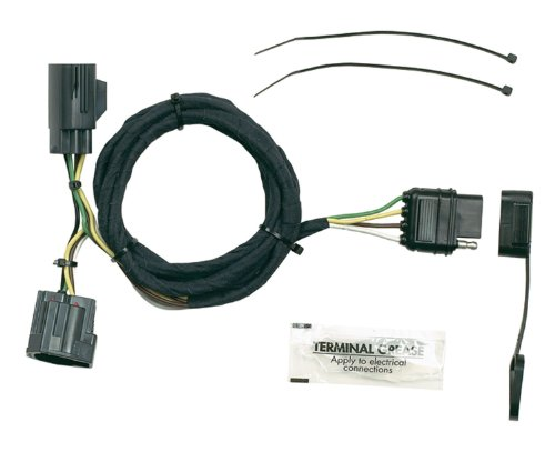 Hopkins 42635 Vehicle To Trailer Wiring Kit For Jeep Wrangler