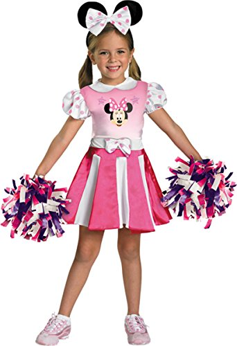 Morris Costumes MINNIE MOUSE CHEERLEADER 2T