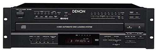 Denon Pro Audio 5 Cd Changer With Am/Fm Tuner Combination Unit
