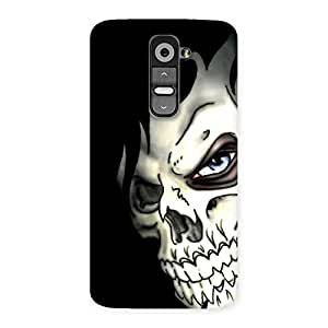 Special Nasty Face Art Multicolor Back Case Cover for LG G2