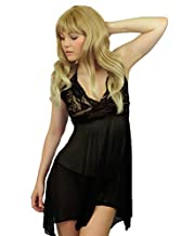 Yummy Bee Lingerie Babydoll Dress Set Lace Plus Size 8 - 26
