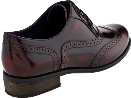 Clarks Women's Hamble Oak Oxford,Burgundy,9.5 M US