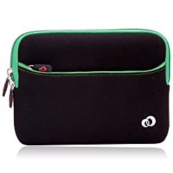 Kroo Tablet Sleeve for iPad mini and Similar Sized Tablets, Green