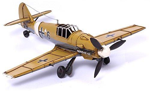 Model Plane - Messerschmitt ME 109 - Retro Tin Model