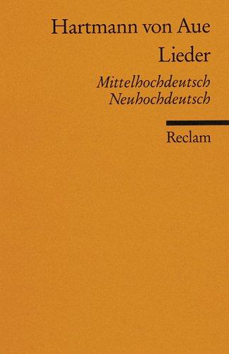 Lieder - Mittelhochdeutsch / Neuhochdeutsch