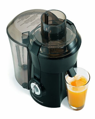 Hamilton Beach 67601A Big Mouth Juice Extractor, Black (Inexpensive Juicers compare prices)