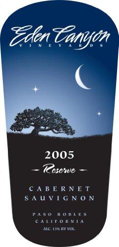 2005 Eden Canyon Vineyards Reserve Cabernet Sauvignon 750 Ml
