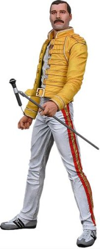 Freddie Mercury 18inch Action Figure with Sound
