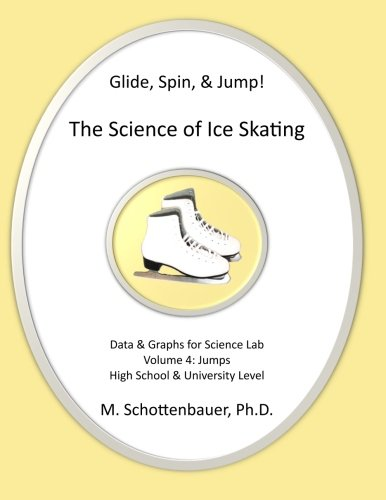 Glide, Spin, & Jump: The Science Of Ice Skating: Volume 4: Data And Graphs For Science Lab: Jumps