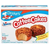 Drake's by Hostess 10 ct Coffee Cakes with Cinnamon Streusel Topping 11.5 oz