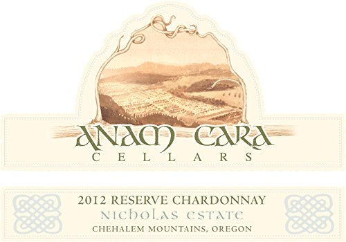 2012 Anam Cara Cellars Chehalem Mountains Reserve Chardonnay 750 Ml