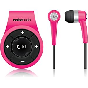 Amazon.com: Noisehush Clip On Bluetooth Stereo Headset ...