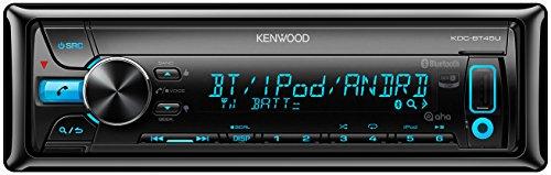 Kenwood KDC-BT45U Sintolettore CD, MP3/WMA/AAC/WAV, Multicolore
