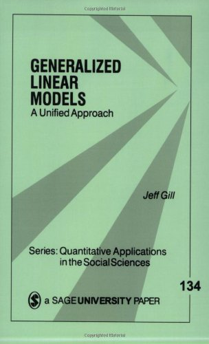 Generalized Linear Models: A Unified Approach (Quantitative Applications In The Social Sciences)