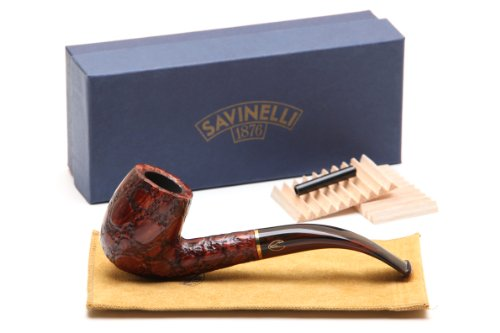 Savinelli Alligator Brown 606 Tobacco Pipe