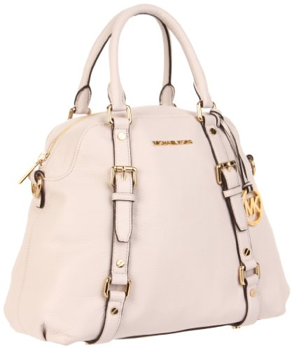 Michael Michael Kors Bedford Large Bowling Satchel, Vanilla