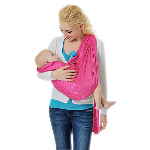 Why Should You Buy E'Plaza® Brand New 6 in 1 Baby Sling Ring Adjustable Infant Stretchy Wrap Newbor...