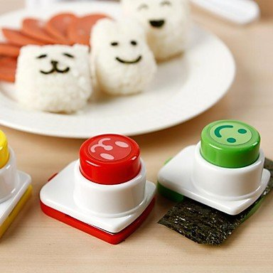 Arnest Seaweed Smile Forms Is Lovely Bento Do Sushi Tool Rice And Vegetable Roll Expressions Mold DIY