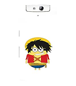 printtech Minions Back Case Cover for Oppo N1