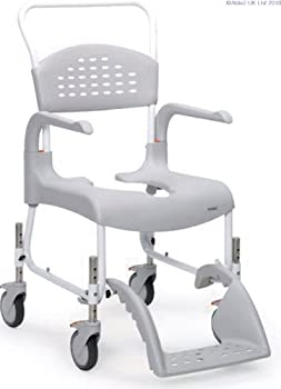 Clean Shower & Toilet Chair - Adjustable Height [Electronics] by Aids 4 Mobility