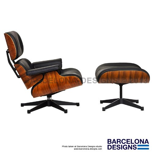 Miraculous Eames Lounge Chair Ottoman Style In Italian Leather Uwap Interior Chair Design Uwaporg