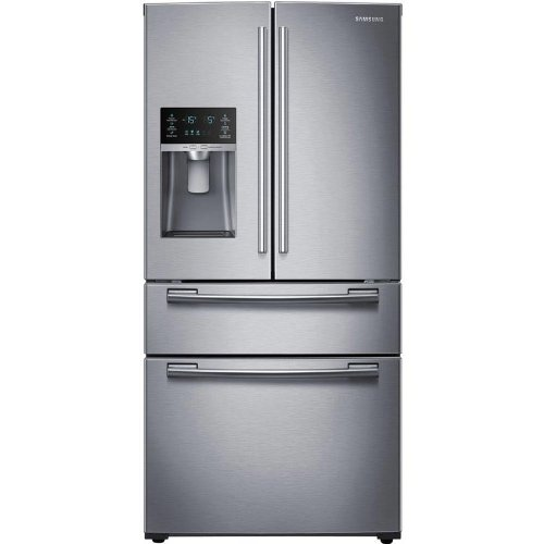 Samsung Rf25Hmedbsr 24.7 Cu. Ft. Stainless Steel French Door Refrigerator - Energy Star