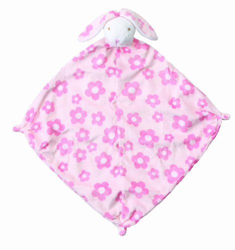Angel Dear Blankie, Flower Print Bunny