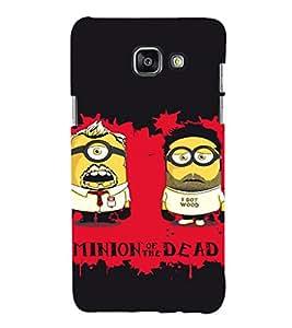 EPICCASE Minion of Dead Mobile Back Case Cover For Samsung Galaxy A5 (2016) (Designer Case)