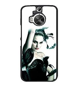printtech Black Swan Ballet Dance Back Case Cover for HTC One M9+