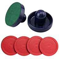 Adorox 2 Dark Blue Air Hockey Pushers…