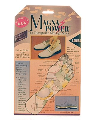 UKayed Magna Power Ladies Therapeutic Massage Soles - One Size Fits All