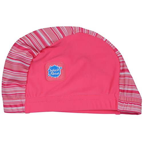 Splash About Bambini Nuoto Hat, Swimming, Pink Candy Stripe, 0 - 18 mesi