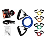 Ripcords Resistance Bands - Power Tension 5 Pack with Circuit7 Exercise DVDby Ripcords