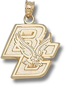 Boston College BC Eagle 5 8 - 14K Gold by Logo Art