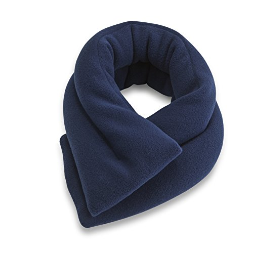 Sunny Bay Extra Long Heated Neck Wrap, Blue, 2.8 Pound (Rice Heat Bag compare prices)