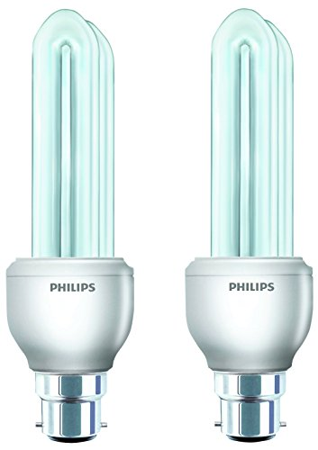 Essential B22 14W CFL Bulb (Warm White, Pack of 2)