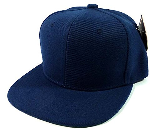 Blank Junior Snapback Hats Fashion - Navy Alpinestars Umbrella