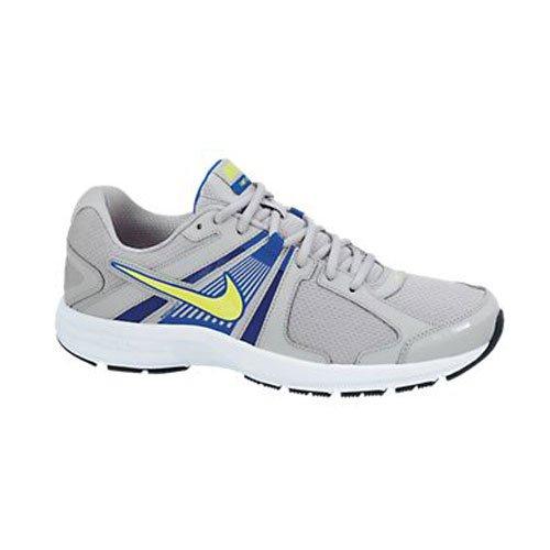 Nike Dart 10 Grey/Blue/Volt Mens 8 4E