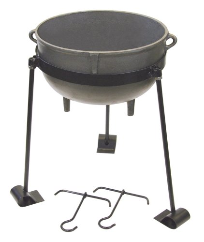 Bayou Classic Cast Iron 4-gallon Jambalaya Pot (Cast Iron Chili Pot compare prices)