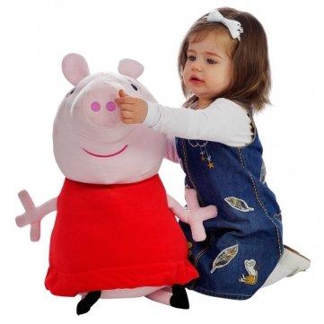 Big Peppa Pig 62cm 24.5inch Baby Pink Plush Doll Stuffed Plush Toy DDStore - 1
