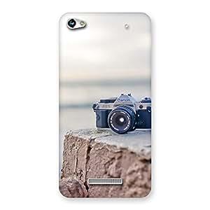 Ajay Enterprise Rel Camera on Rock Multicolor Back Case Cover for Micromax Hue 2