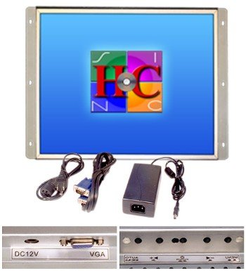 17 Inch Arcade Game LCD Monitor, for Jamma, Mame, and Cocktail Game Cabinets, Also Industrial Pc Panel Mount. (Panel Mount Monitor compare prices)