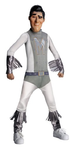 Megamind Child's Costume, Metro Man Costume-Medium