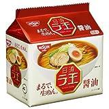 日清 ラ王 袋めん 醤油 1ケース(30個)(5P入×6袋)
