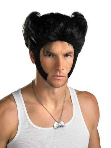 Costumes For All Occasions DG19125 Wolverine Wig W Acccessory