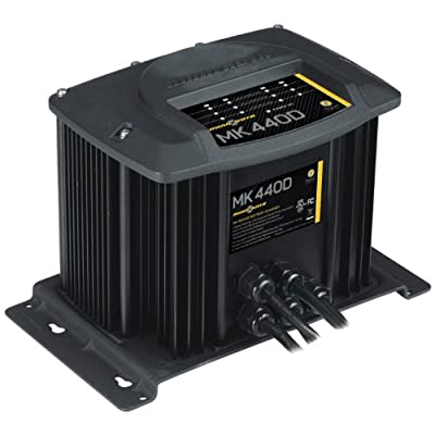 Minn Kota MK440D On-Board Battery Charger (4 Banks, 10 Amps Per Bank)