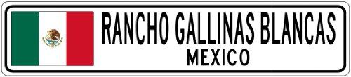 rancho-gallinas-blancas-mexico-mexico-flag-city-sign-4x18-quality-aluminum-sign